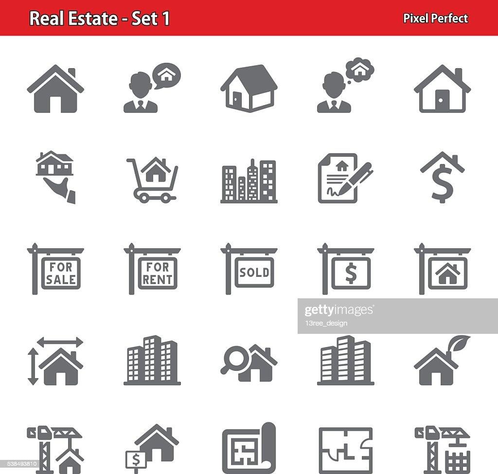 Real Estate Icons - Set 1