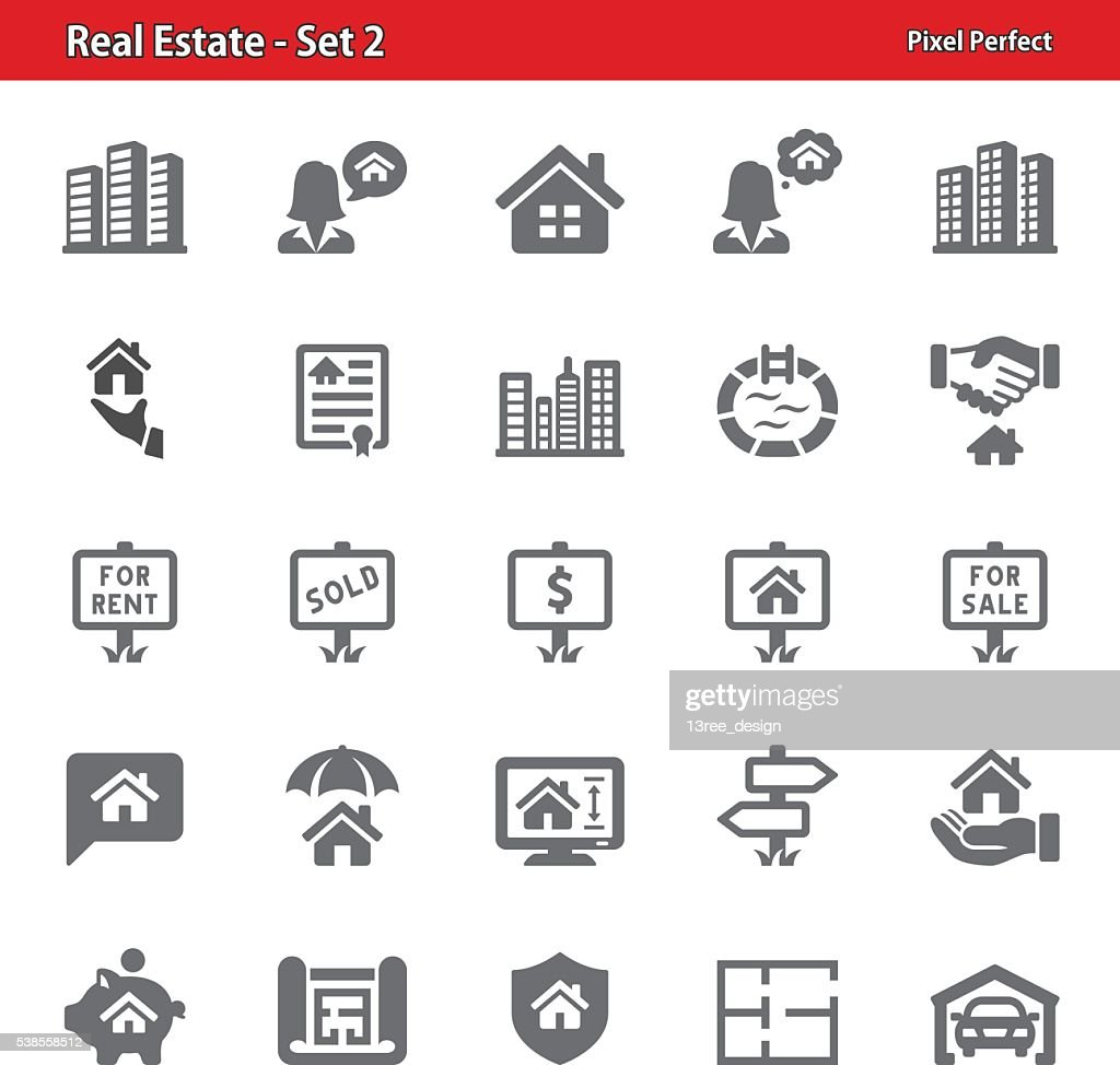 Real Estate Icons - Set 2
