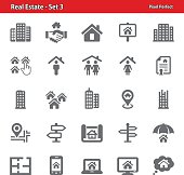 Real Estate Icons - Set 3