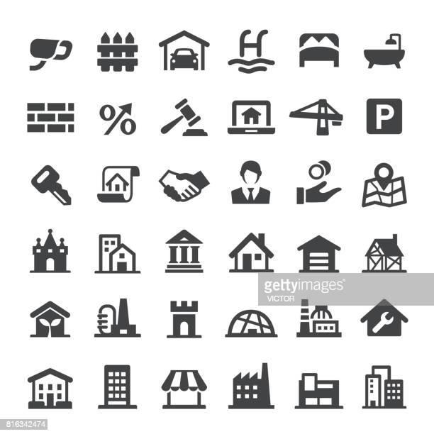 Real Estate Icons Set - Big Series