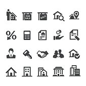 Real Estate Icons Set - Smart Series