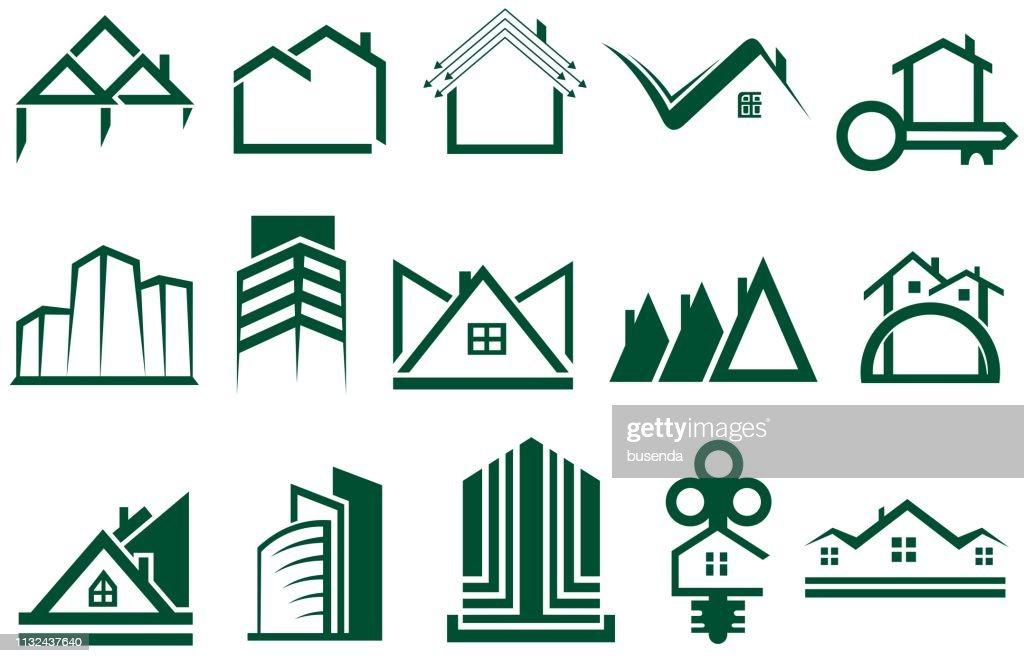 Real Estate Logo Set.