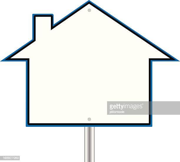 real estate sign   house - subprime loan crisis stock illustrations