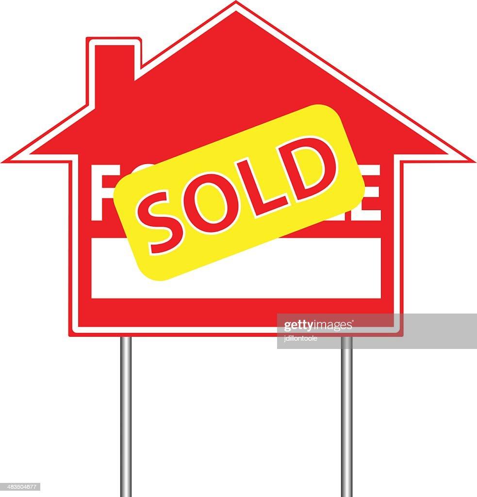 Real Estate Sign | Sold