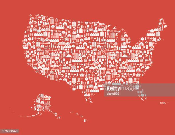 Real Estate United States Map