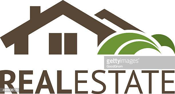 real estate - private property stock illustrations