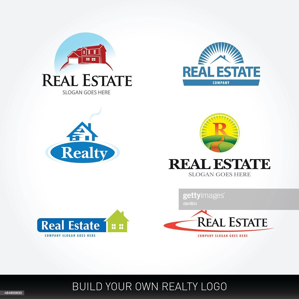 Real estate vector set. Real Estate design template.
