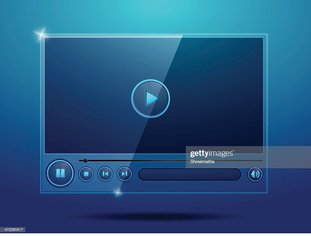 Real Glossy Media Player