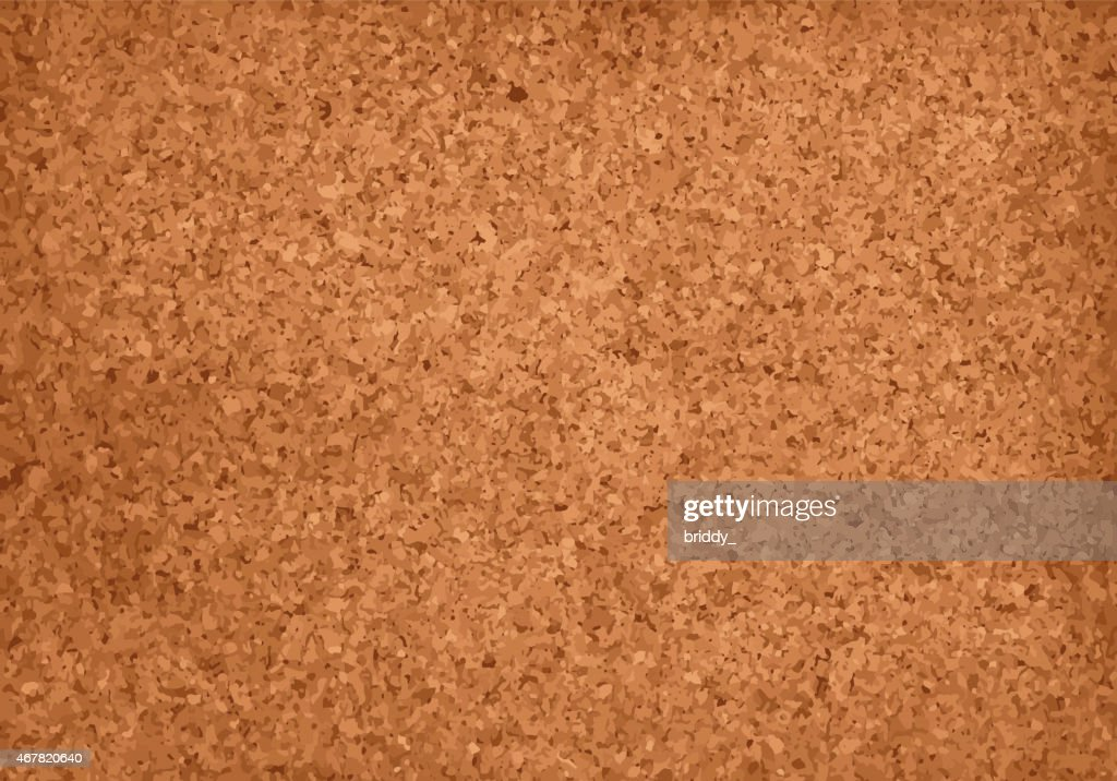 Realistic Cork Material Grunge Background