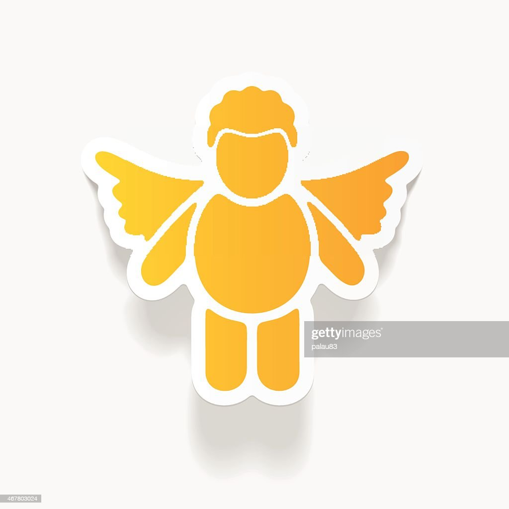 realistic design element: angel
