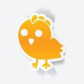 realistic design element: chicken