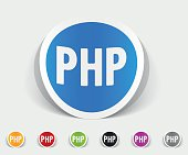 realistic design element. PHP