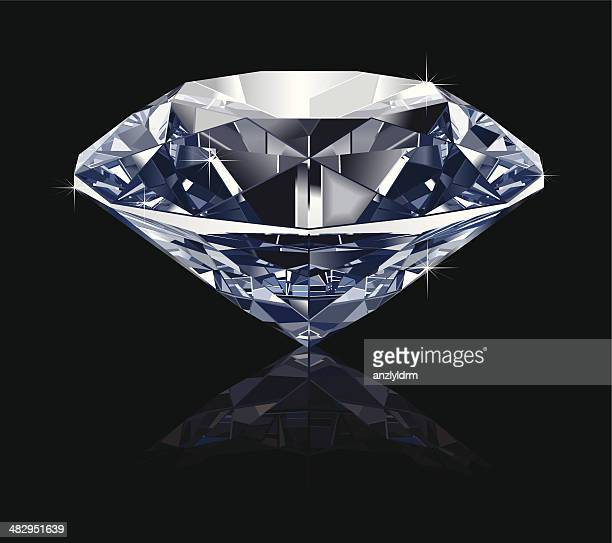 ilustrações de stock, clip art, desenhos animados e ícones de realistas diamante - diamante