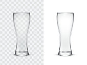 Realistic drinking glasses