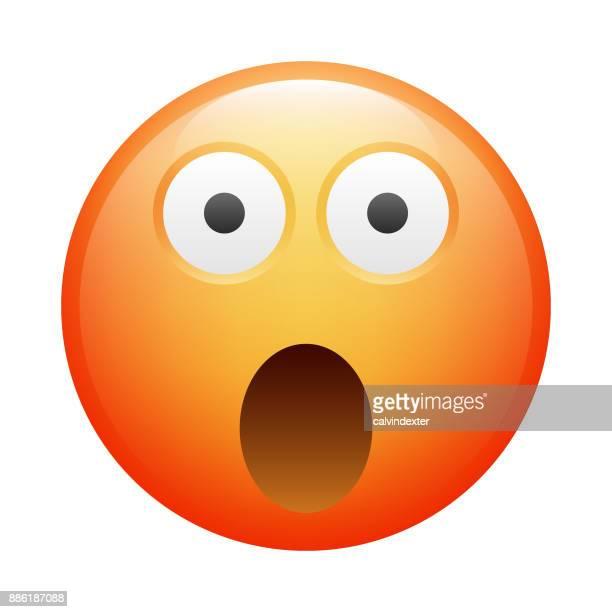 realistic emoji - bad news stock illustrations