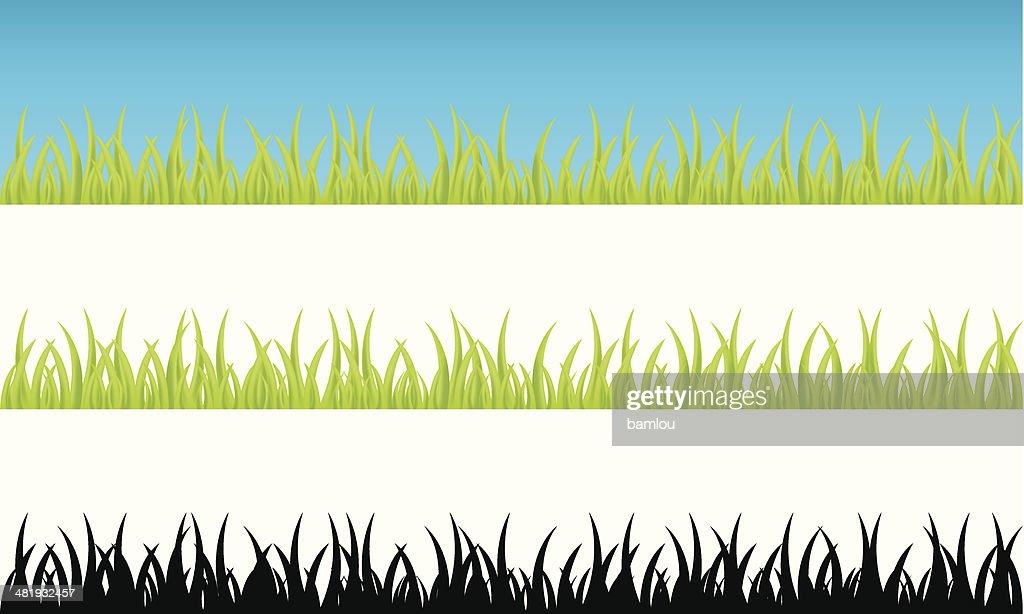Realistic grass continuum