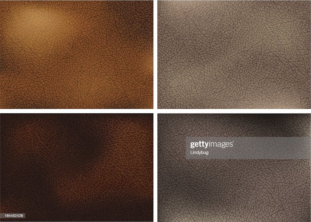 Realistic leather textures