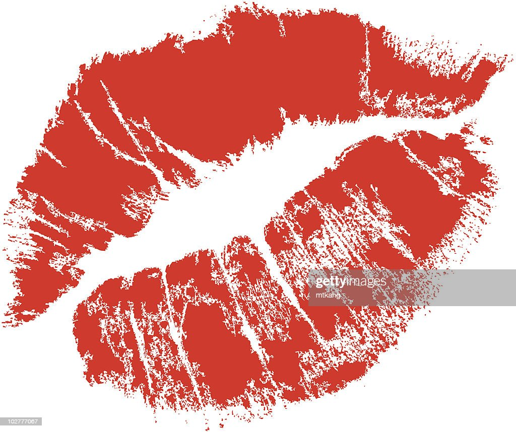 realistic lips mark