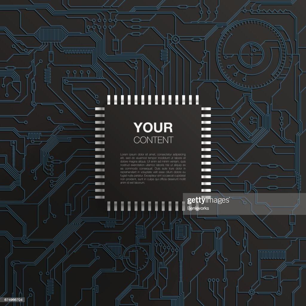 Realistic microchip design