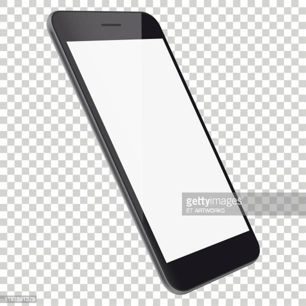 リアルな携帯電話の遠近角図 - 角点のイラスト素材/クリップアート素材/マンガ素材/アイコン素材