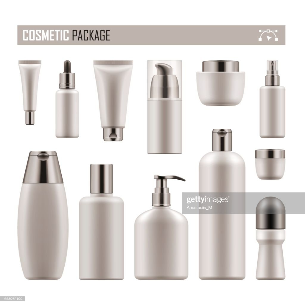 Realistic package for cosmetic product