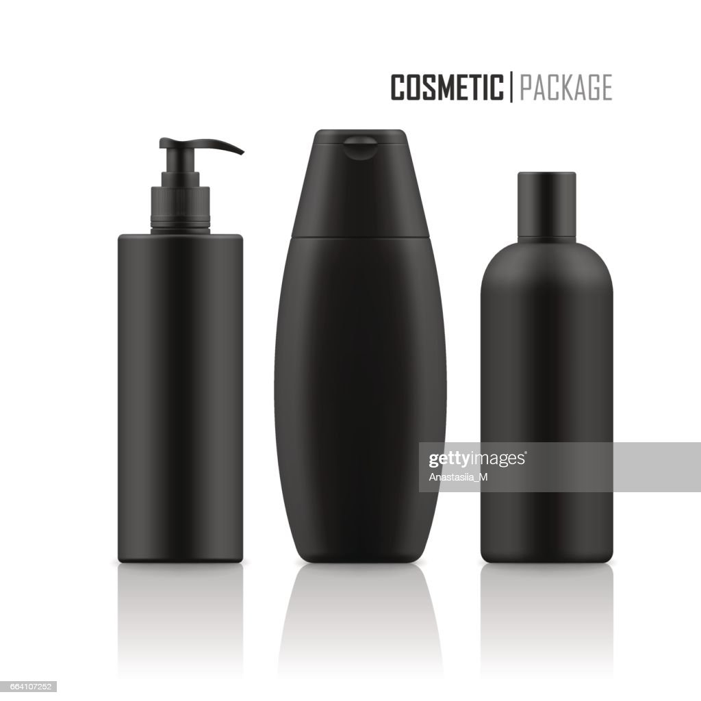 Realistic package for cosmetic product.