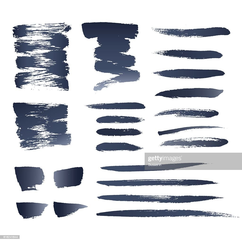 Realistic Vector Brushes