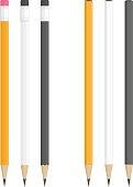 Realistic vector pencils.