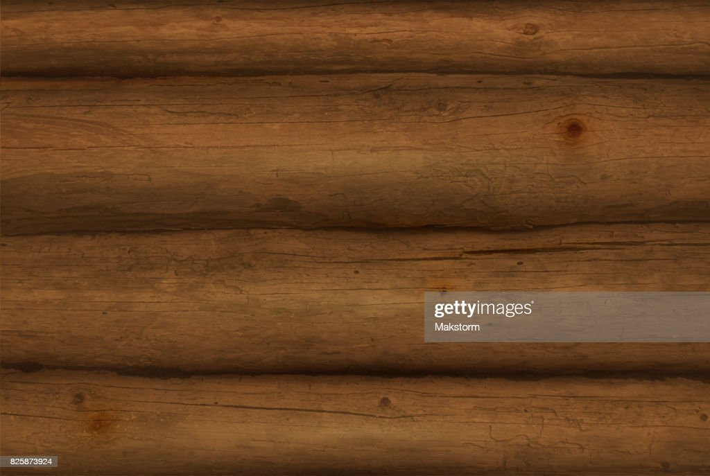 Realistic  Wooden Logs.