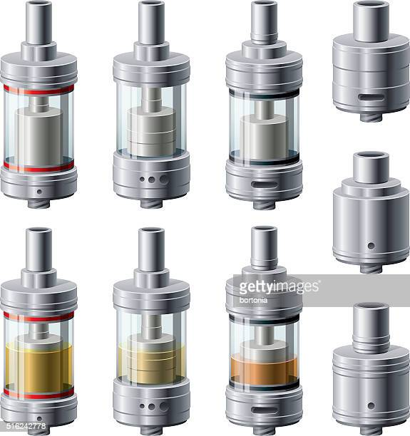 Rebuildable Vaping Atomizers, Tank and Dripper Styles