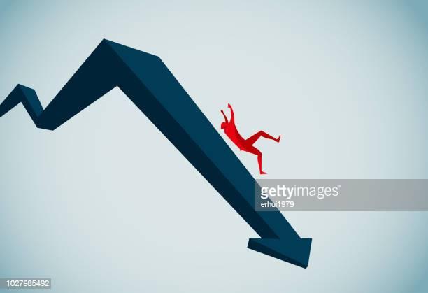 rezession - rezession stock-grafiken, -clipart, -cartoons und -symbole