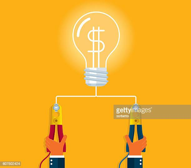 recharge - steel cable stock illustrations, clip art, cartoons, & icons