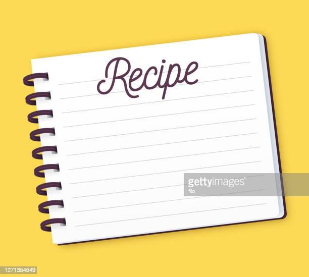 レシピノートパッド - レシピ点のイラスト素材/クリップアート素材/マンガ素材/アイコン素材