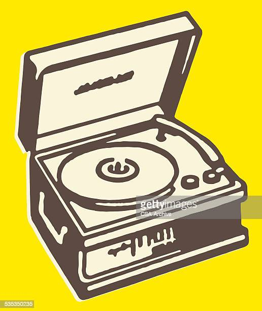 record player - gramophone stock illustrations, clip art, cartoons, & icons