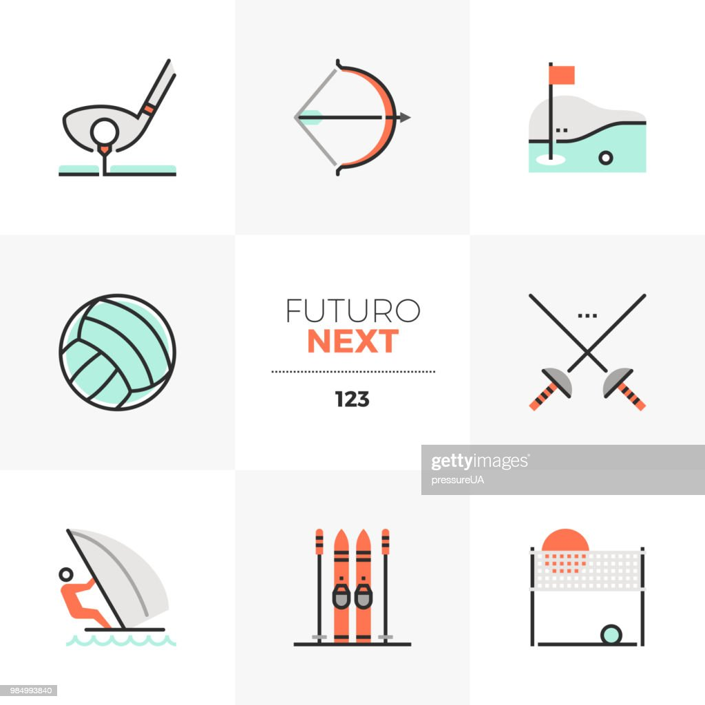 Recreational Sports Futuro Next Icons