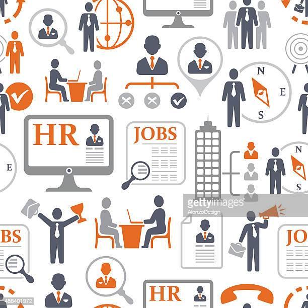 Personalbeschaffung und Arbeitssuche Muster