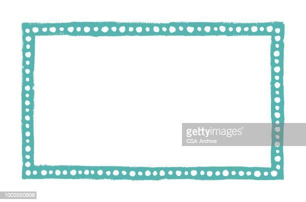 rectangle border - enclosure stock illustrations