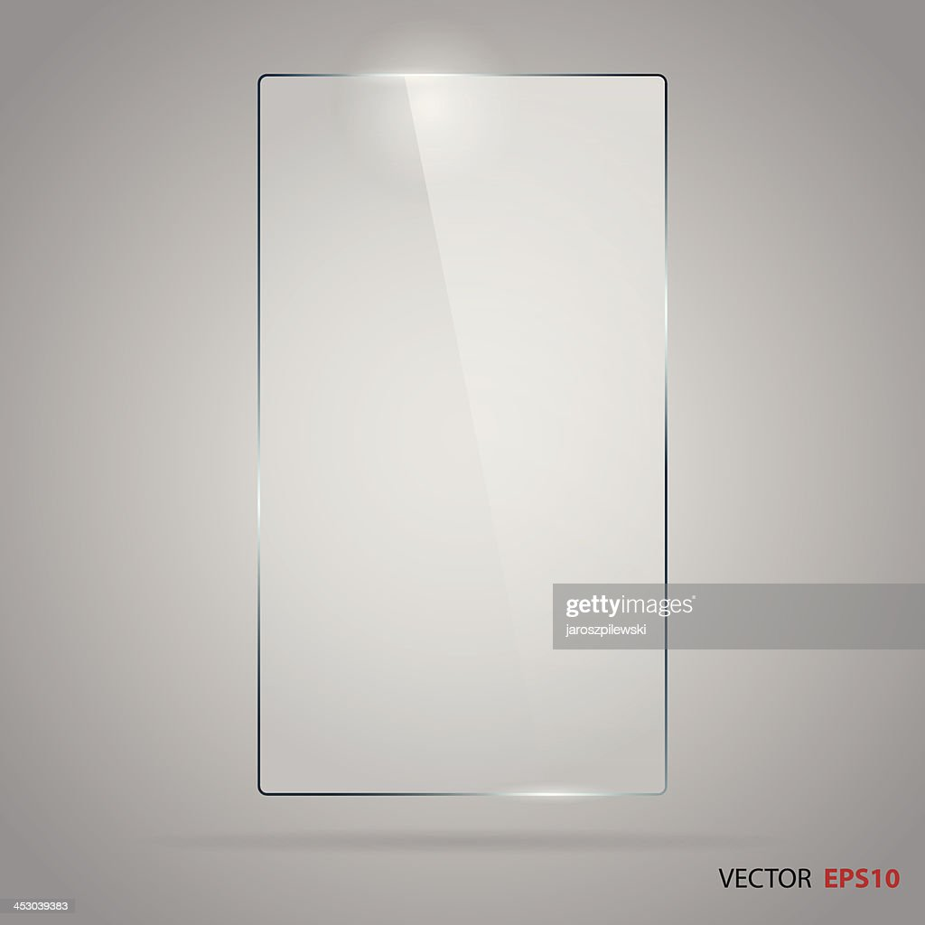 Rectangle glass frame