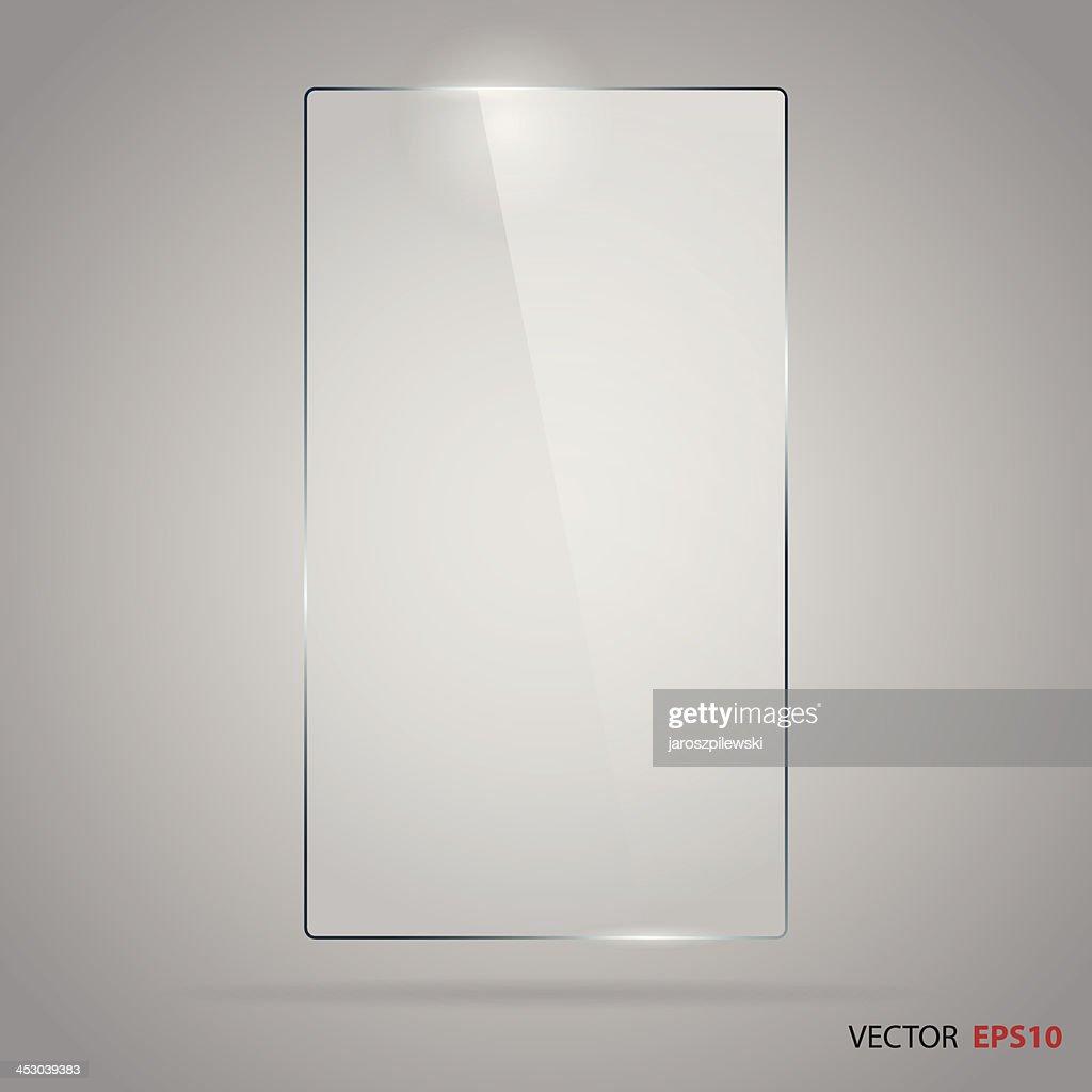 Rectangle glass frame