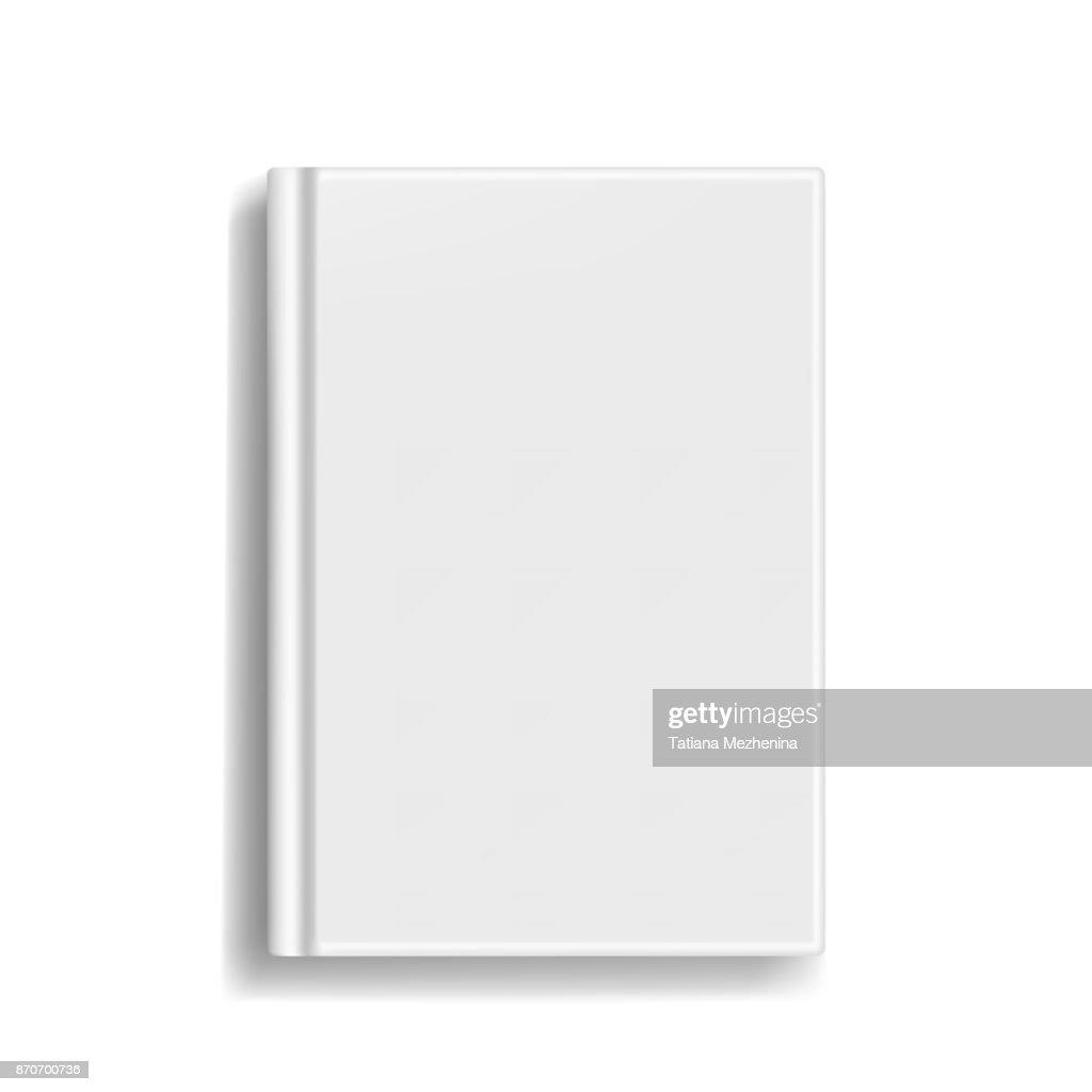 Rectangular book or photobook cover mockup