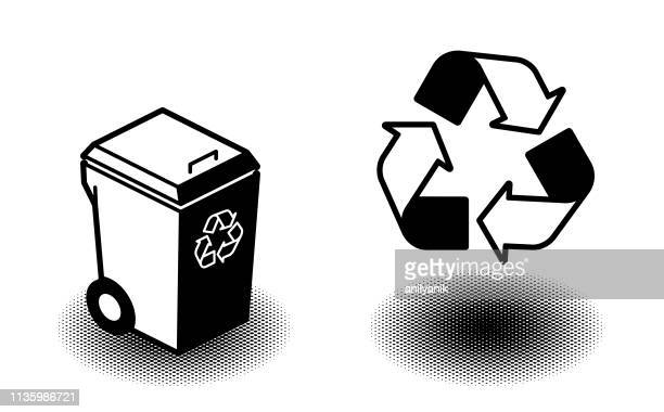 recycle bin - recycle symbol