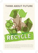 Recycle garbage vector illustration