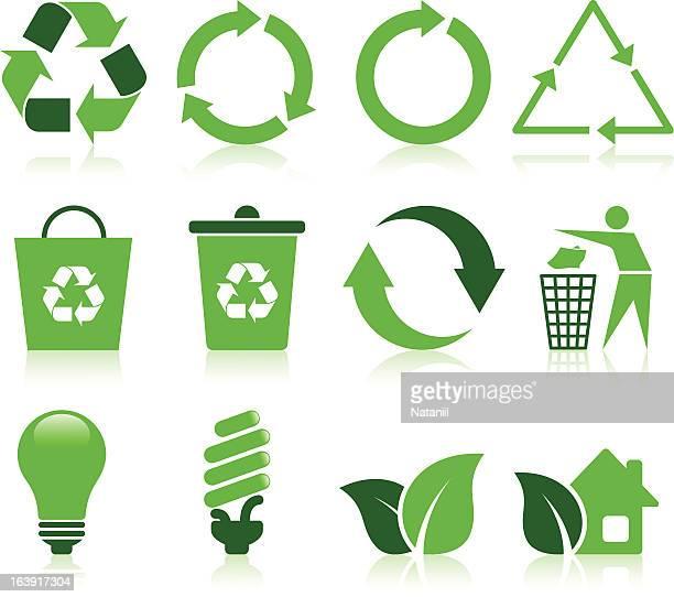 recycling symbol - recyclingsymbol stock-grafiken, -clipart, -cartoons und -symbole