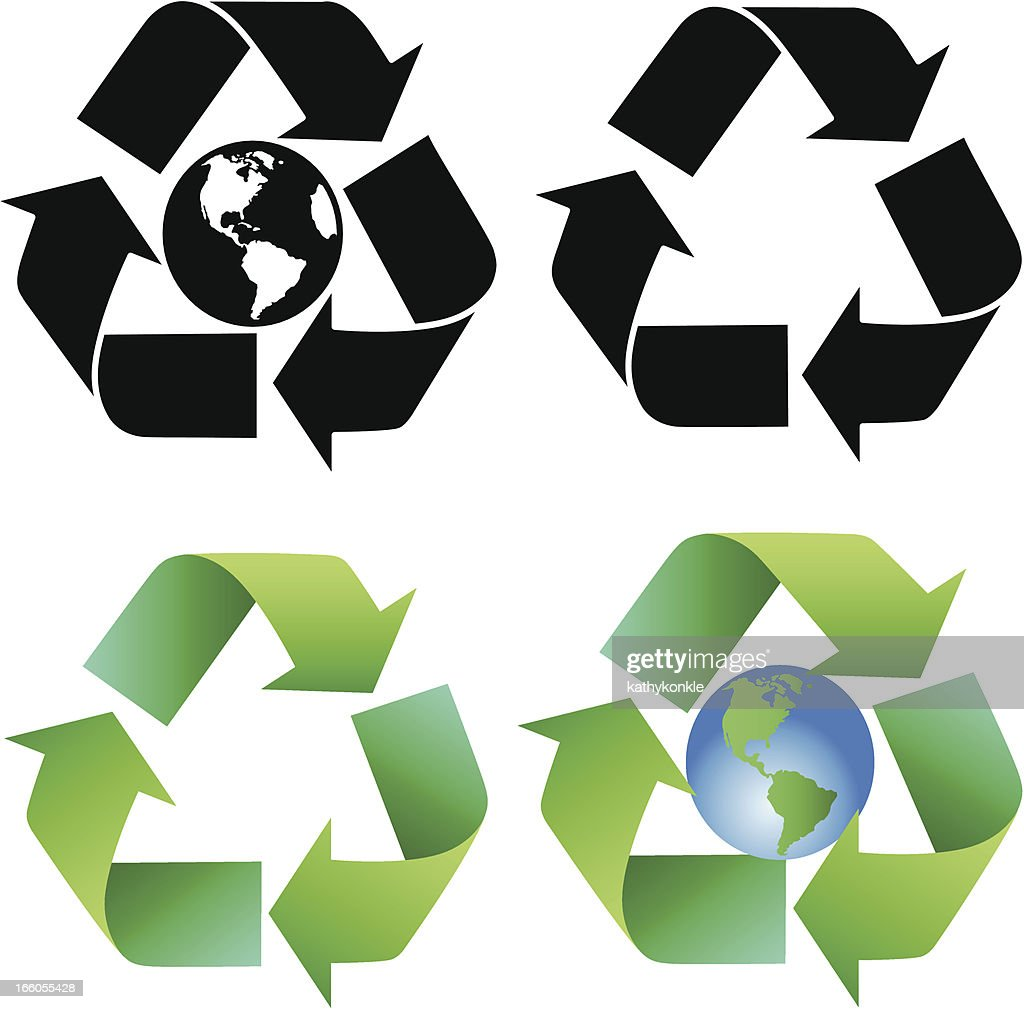 Recycle Symbol Vector Art Getty Images