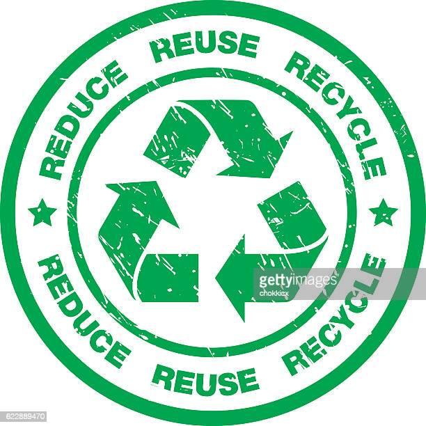 リサイクルバッジ - 再生利用点のイラスト素材/クリップアート素材/マンガ素材/アイコン素材