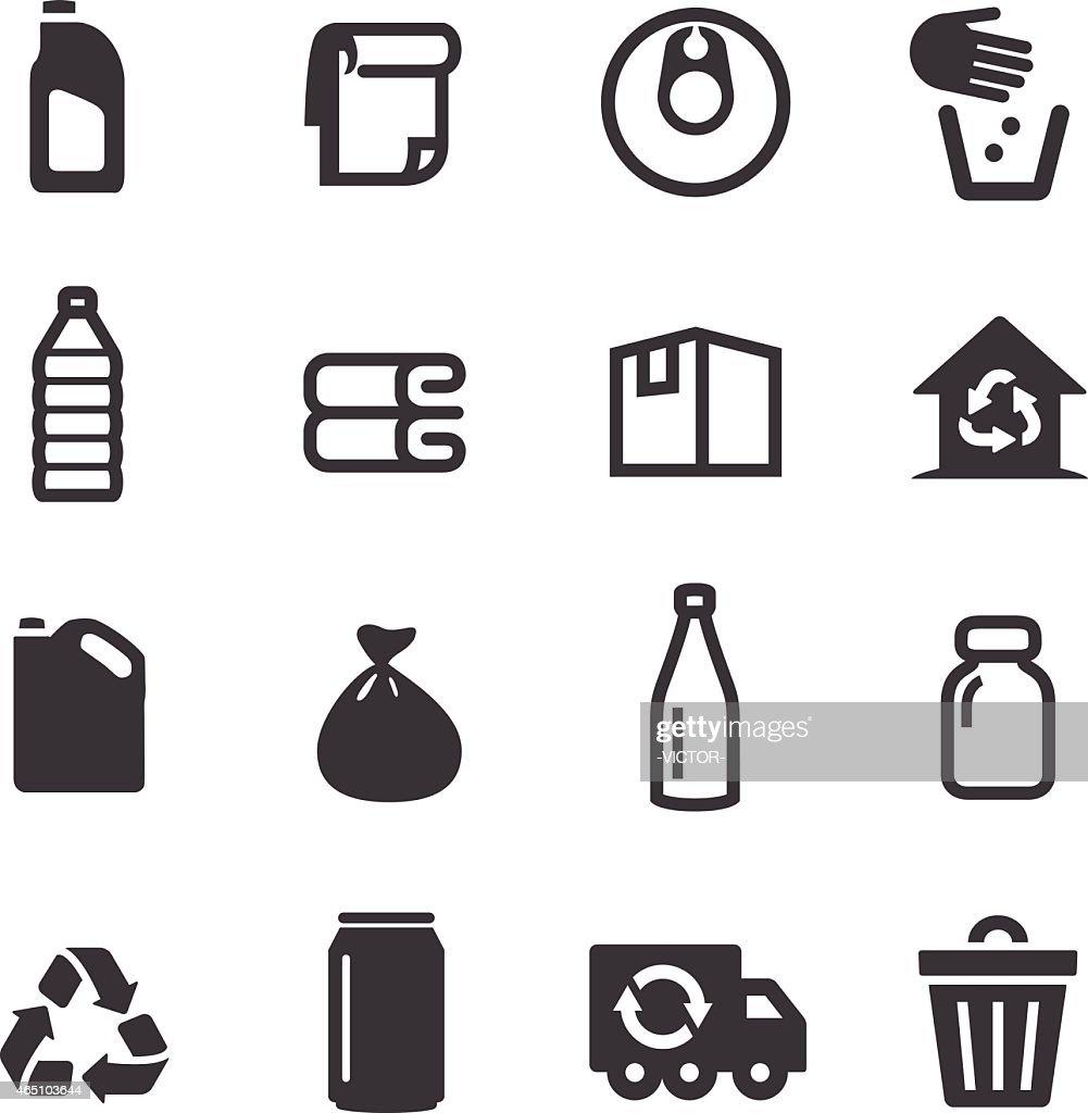 Ícones-a Acme série de reciclagem : Ilustração