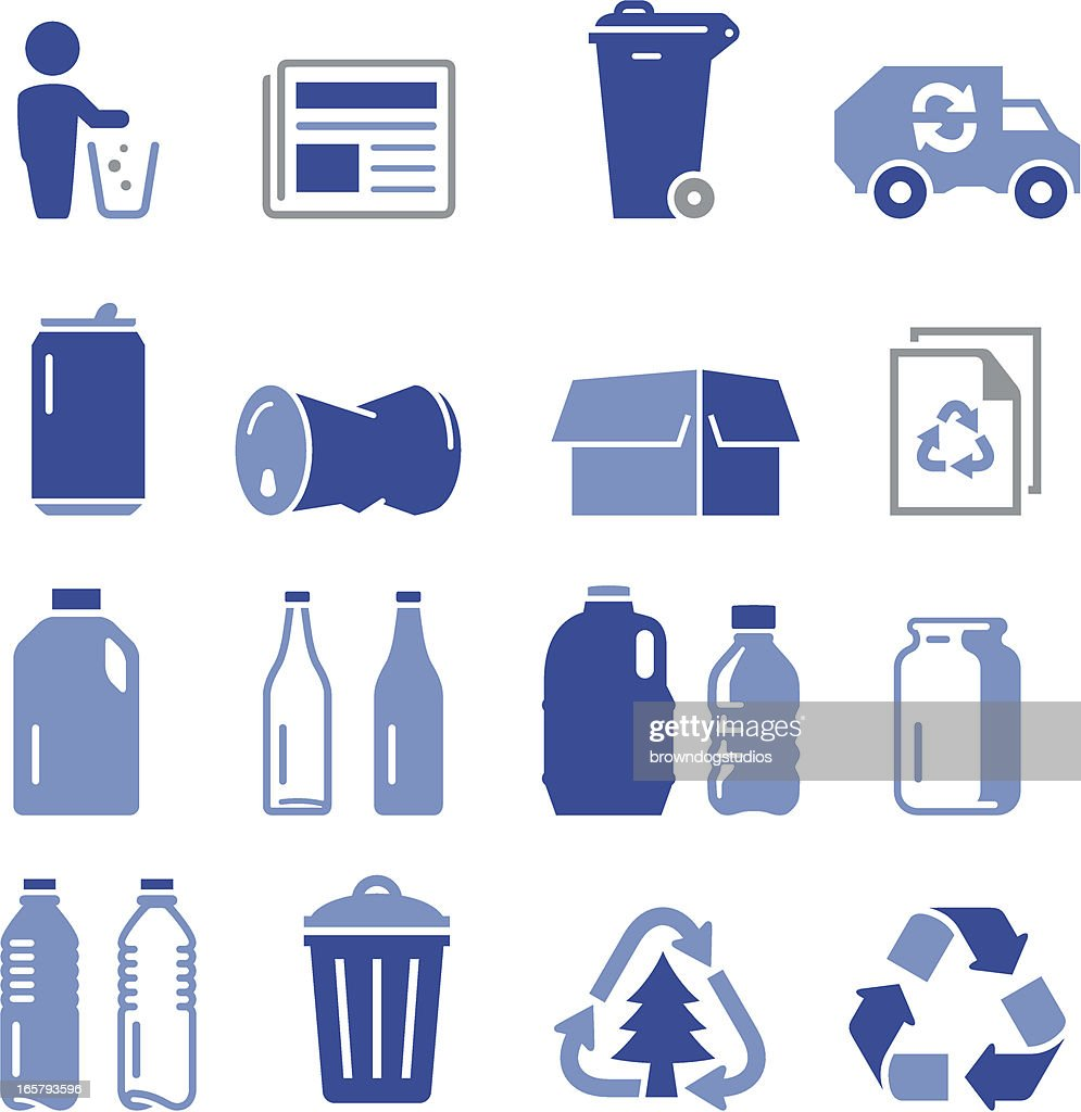 Recycling Icons - Pro Series