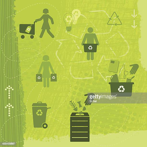 Recycling lifestyle (Green World Series)