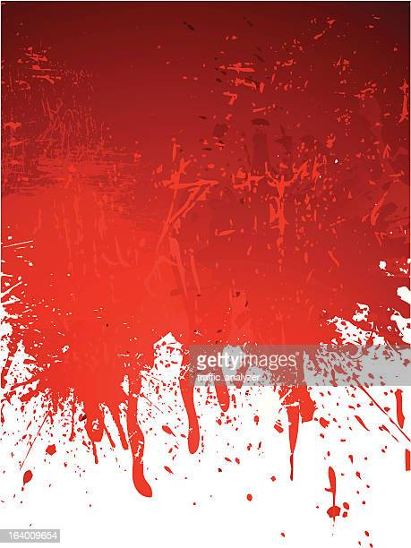 red abstract grungy background - blood stock illustrations, clip art, cartoons, & icons