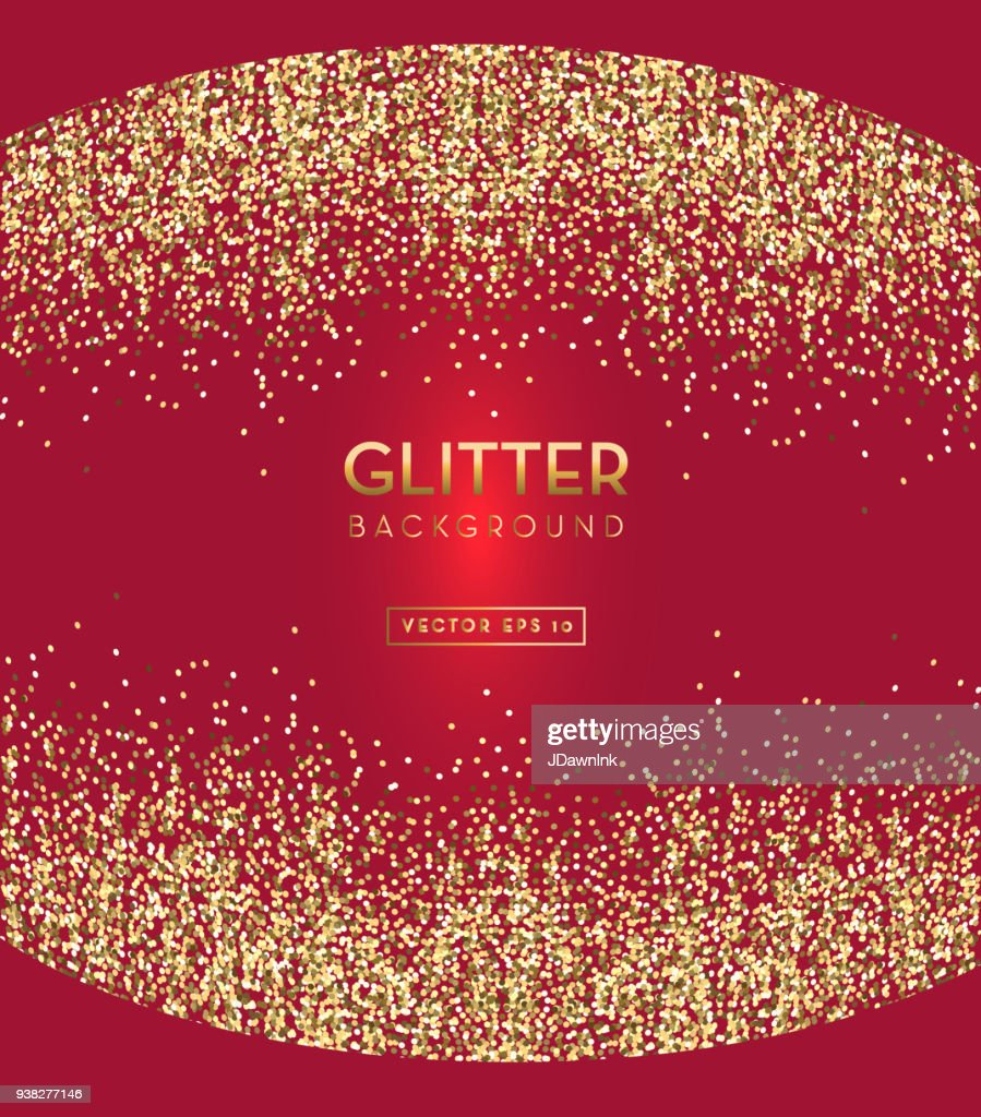 red and gold glitter background template design layouts vector art
